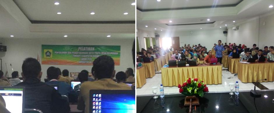 Pelatihan Bimtek Prodeskel Kabupaten Bogor