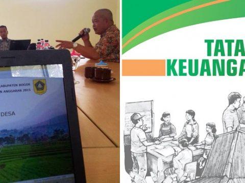 Pelatihan Sistem Tata Kelola Keuangan Desa