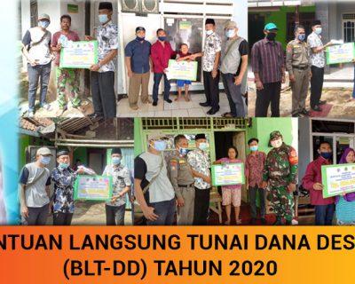 Bantuan Langsung Tunai Dana Desa Desa Rawakalong Tahun 2020